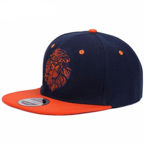 LION Embroidery Snap-Back
