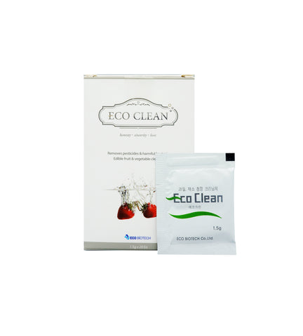 EcoClean Fruit & Vegetable Cleaner (1.5g x 20pkg)