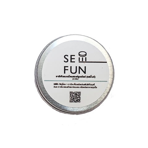 Seefun Toothpaste Tabs with Fluoride (Mint flavor) (6g/15tabs)