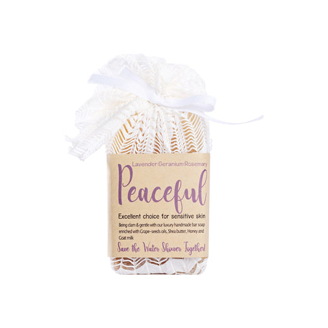OGL Peaceful Natural Oil Bar Soap (120g) - Organic Pavilion
