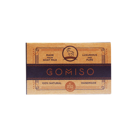 GOMISO Goat Milk Activated Charcoal Soap (85g)