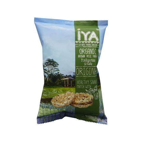 Iya Organic Brown Rice Original Tasty (25g)