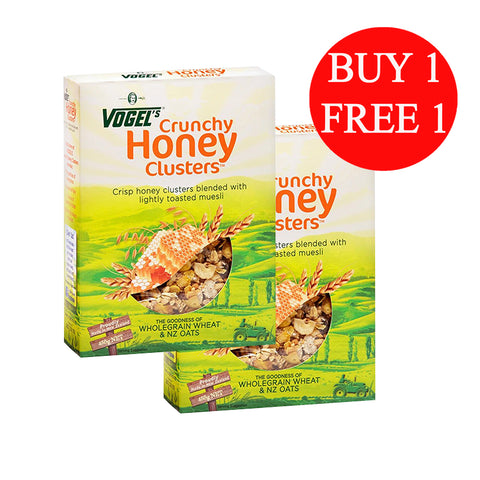 Smartfoods Limited Crunchy Honey Clusters (450g)