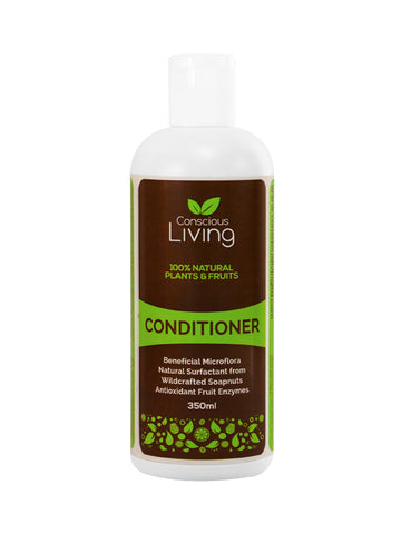 Conscious Living 100% Natural Plants and Fruits Conditioner (350ml) - Organic Pavilion