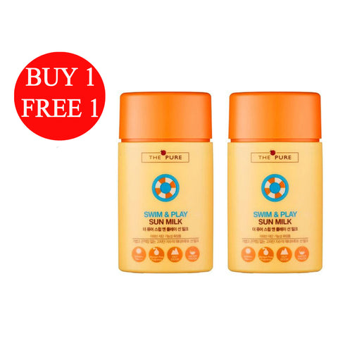 BUY 1 FREE 1 The Pure I'm Kids Swim and Play Sun Milk (2 x 60g)
