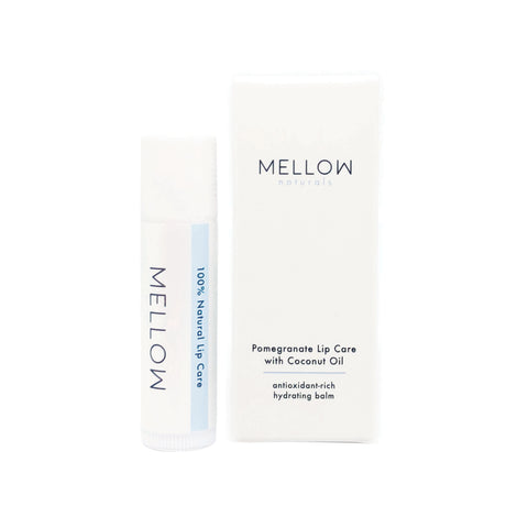 Mellow Naturals Pomegranate Lip Care with Coconut Oil (5g)