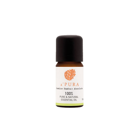 a'PURA Jasmine Sambac Absolute 100% Pure Essential Oil (10ml) - Organic Pavilion