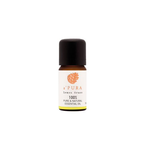a'PURA Lemongrass 100% Pure Essential Oil (10ml) - Organic Pavilion