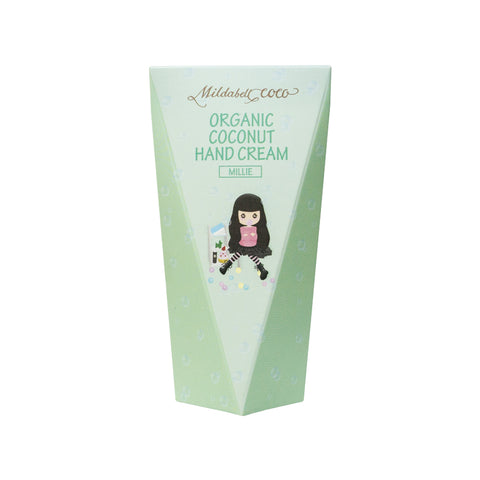 Mildabell Coco Organic Coconut Hand Cream Millie (30ml) - Organic Pavilion