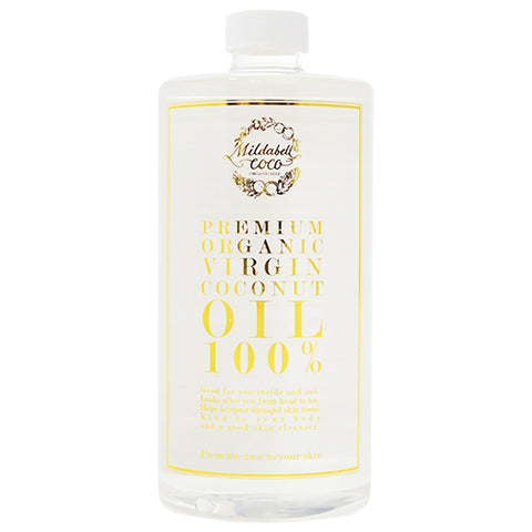 Mildabell Coco Premium Organic Virgin Coconut Oil 100% (1000ml)