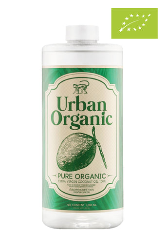 Urban Organic 100% Cold Pressed Extra Virgin Coconut Oil (1000ml)