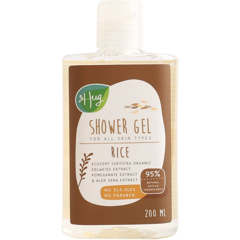 Hug Shower Gel Rice (200ml)