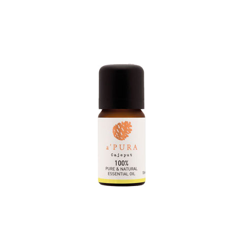 a'PURA Cajeput 100% Pure Essential Oil (10ml) - Organic Pavilion