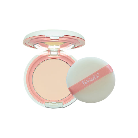 Fairiesta Brightening Baby Pressed Powder 02 : Natural (11g)