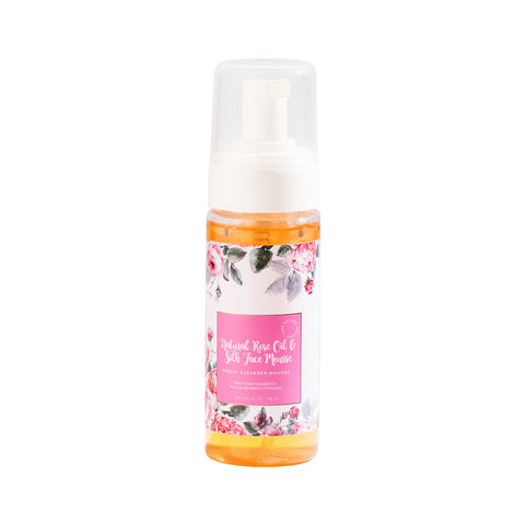 OGL Natural Rose Oil and Slik Face Mousse (160ml)