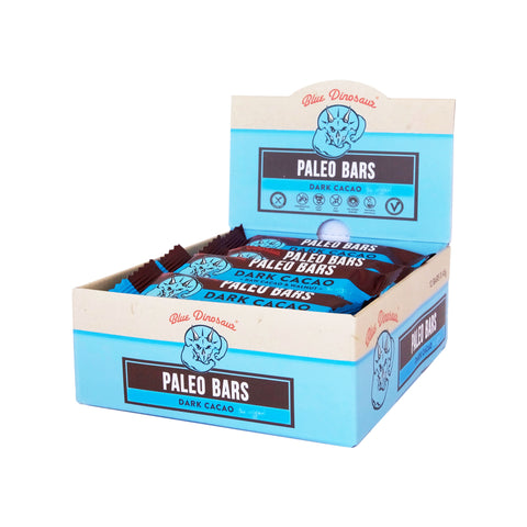 Blue Dinosaur Paleo Bar Dark Cacao (45g x 12 Bars)