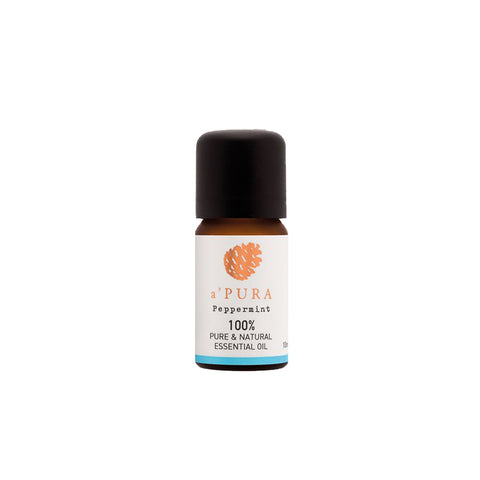 a'PURA Peppermint 100% Pure Essential Oil (10ml) - Organic Pavilion