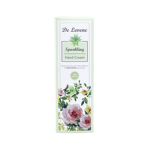 De Levene Hand Cream Green Sparkling (30ml)