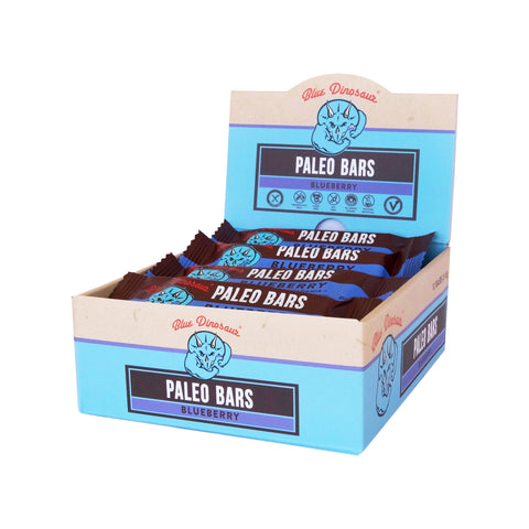 Blue Dinosaur Paleo Bar Blueberry and Macadamia (45g x 12 Bars) - Organic Pavilion
