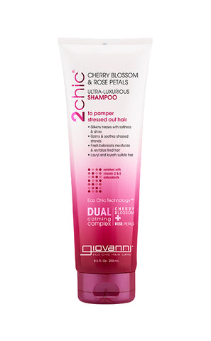 Giovanni 2Chic®Cherry Blossom & Rose Petals Ultra-Luxurious Shampoo (8.5oz) - Organic Pavilion