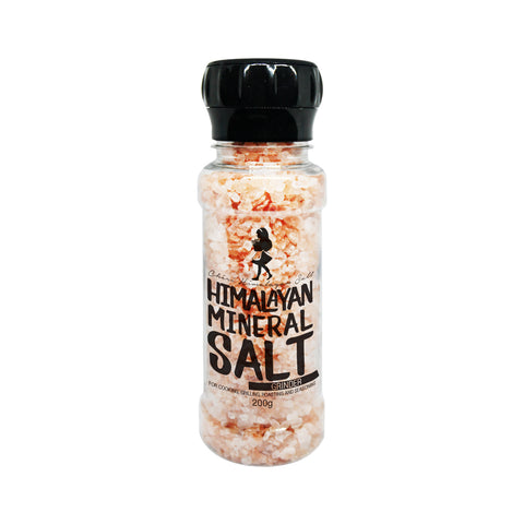 Cheri Himalayan Salt Coarse Grain with Grinder (220g)