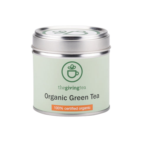 The Giving Tea Organic Green Tea (14g/7pyramid tea bags) - Organic Pavilion
