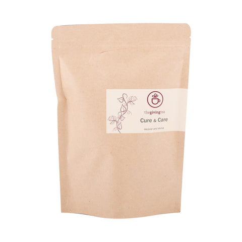 The Giving Tea Cure & Care Blended Tea NO CAFFEINE (30g/15pyramid tea bags) - Organic Pavilion