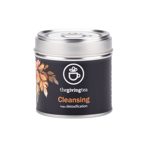 The Giving Tea Cleansing Blended Tea NO CAFFEINE (14g/7pyramid tea bags)
