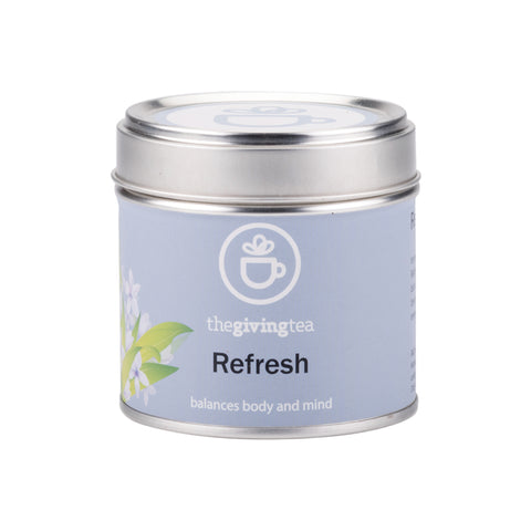 The Giving Tea Refresh Blended Tea NO CAFFEINE (14g/7pyramid tea bags)