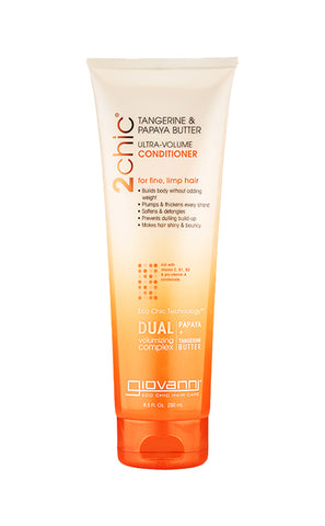Giovanni 2Chic® Tangerine & Papaya Butter Ultra-Volume Conditioner (8.5oz)