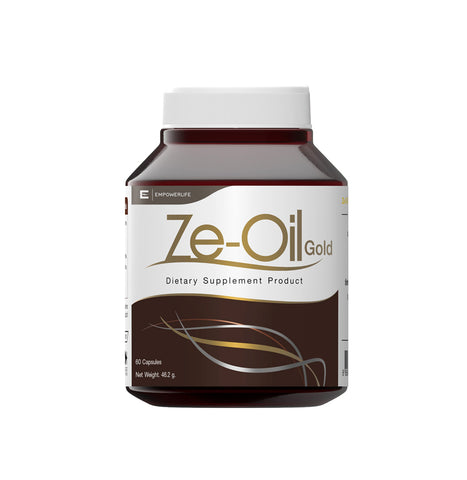 Empowerlife Ze-Oil Gold Dietary Supplement 60 Capsules x 720mg (46.2gm) - Organic Pavilion