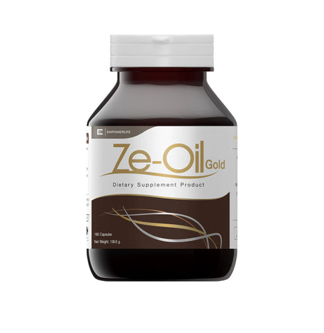Empowerlife Ze-Oil Gold Dietary Supplement 180 Capsules x 720mg (138.6gm)