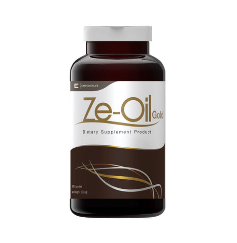 Empowerlife Ze-Oil Gold Dietary Supplement 300 Capsules x 720mg (233gm)