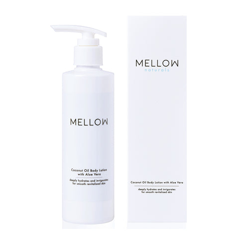 Mellow Naturals Coconut Oil Body Lotion with Aloe Vera (250ml)