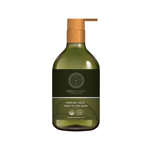Soul Natural Aqua Face & Body Wash (220ml)