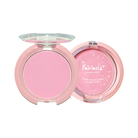 Fairiesta Sweet Charming Baby Powder Blusher 01 : Strawberry (4.7g)