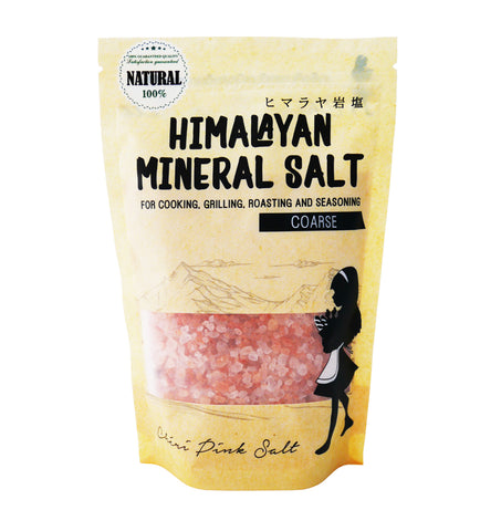 Cheri Himalayan Salt Coarse Grain Refill Bag (400g)