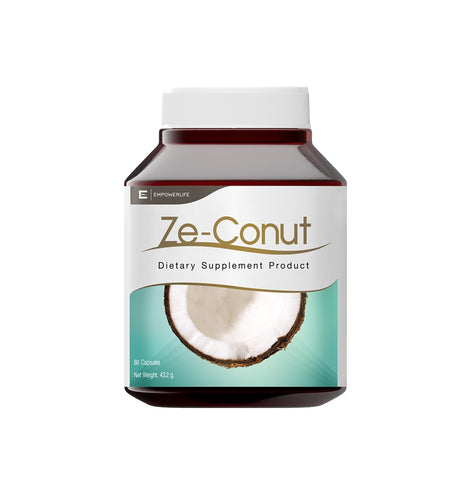Empowerlife Ze-Conut Dietary Supplement 60 Capsules x 720 mg (43.2gm)