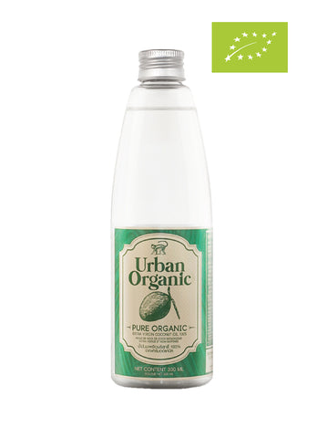 Urban Organic 100% Cold Pressed Extra Virgin Coconut Oil (300ml) - Organic Pavilion
