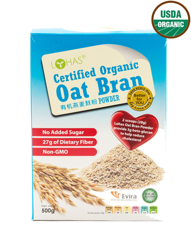 Mr. & Mrs. Certified Organic Oat Bran (500 gm)
