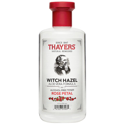 Thayers Alcohol-Free Rose Petal Witch Hazel Toner (355ml)