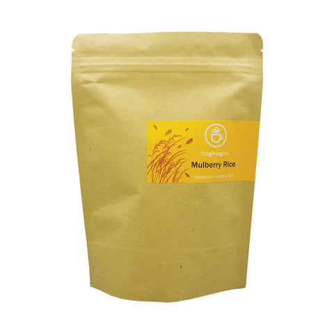 The Giving Tea Mulberry Rice Blended Tea NO CAFFEINE (37.5g /15pyramid tea bags)