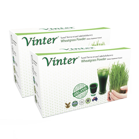 Vinter Wheatgrass double pack (120g)