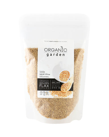 Organic Garden Golden Flax (250gm)