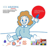 Aozora 12-colour non-toxic Crayons for children (basic assort) - Organic Pavilion