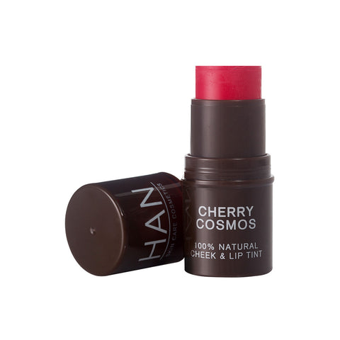 Han Skin Care Cosmetics 100% Natural Cheek & Lip Tint Cherry Cosmos (5.7gm)