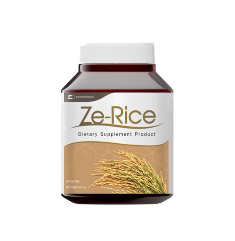 Empowerlife Ze-Rice Dietary Supplyment 60 Capsules x 720 mg (43.2gm)
