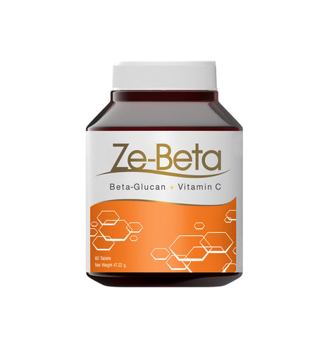 Empowerlife Ze-Beta Beta-Glucan + Vitamin C Supplement 60 Capsules x 787 mg (47.22gm)