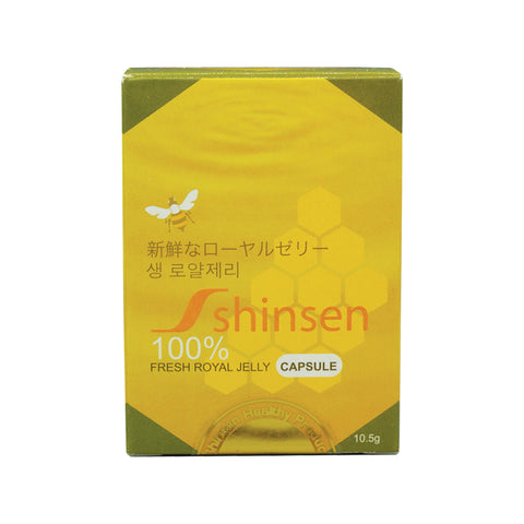 Dr.Arora Organic Shinsen Royal Jelly capsules (Lyophilized) (10.5 gms, 60 capsules)