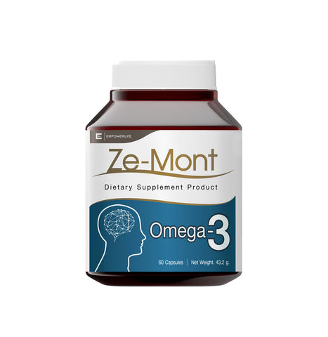 Empowerlife Ze-Mont Dietary Supplyment 60 Capsules x 720 mg (43.2gm)